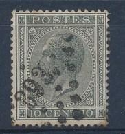 """BELGIE - OBP Nr 17A - Leopold I - Puntstempel  Nr 393  """"WAVRE"""" - (ref. ST-1018) - Postmarks - Points"""