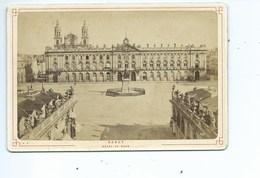 Nancy Hôtel De Ville ( Photo Avant 1900 ) - Photographs