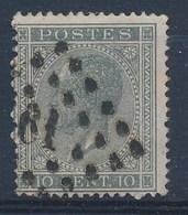 """BELGIE - OBP Nr 17A  - Leopold I - Puntstempel  Nr 61 """"BRUXELLES-EST"""" (ref. ST-1019) - Postmarks - Points"""