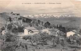 SASSENAGE Chateau Feodal 4(scan Recto-verso) MA1332 - Sassenage