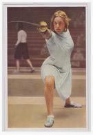 DT- Reich (001632) Olympia 1932 Sammelbild Nr. 141, Helene Meyer (Deutschland) Siegerin Im Damenflorettfechten Von 1928 - Sommer 1932: Los Angeles