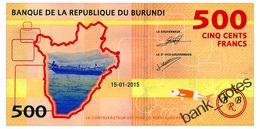 BURUNDI 500 FRANCS 2015 Pick 50 Unc - Burundi