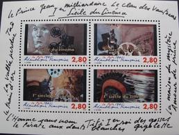 PTT/392 - 1er SIECLE DU CINEMA - BLOC NEUF** N°17 - Sheetlets