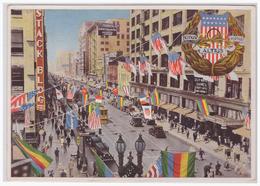 DT- Reich (001664) Olympia 1932 Sammelbild Nr. 6, Das Geschmückte Los Angeles, Das Zu Ehren Der Olympia- Kämpfer - Sommer 1932: Los Angeles