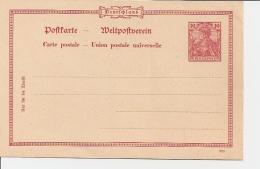 DR P 45 ** 10 Pf Germania Reichspost, DD 999 - Alemania