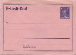 DR RU 12  **  - 40 Pf  Leibniz Rohrpost - Umschlag - Alemania