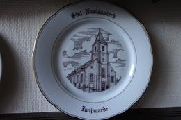 * Zwijnaarde (Gent - Oost Vlaanderen) 1 Uniek Bord Magvam Porselein Van Zwijnaarde Te IEPER - Céramiques