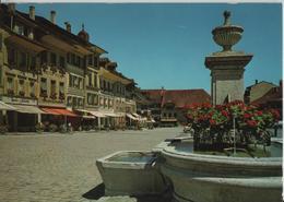 Aarberg - Dorfplatz - BE Berne