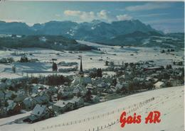 Klimakurort Gais Mit Säntiskette Im Winter En Hiver - Photo: Gross - AR Appenzell Rhodes-Extérieures