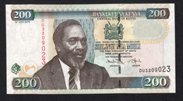 KENYA.  : 200 Schillings - 2010  - P49e - UNC - Kenia