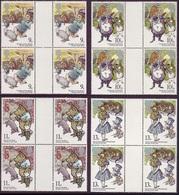 GB 1979 Year Of The Child Gutter Pair Blocks UM/MNH - 1952-.... (Elizabeth II)