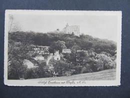 AK ERSTBRUNN DÖRFLES B. Korneuburg - Hohenau Bahnpost Zugstempel 1925 ///  D*34547 - Korneuburg