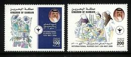 BAHRAIN 2008 MEDICAL NURSES DAY SET MNH - Bahrain (1965-...)