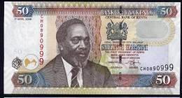 KENYA.  : Banconota 50 Schillings - 2006  - P50b - UNC - Kenia