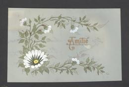 Themes Div-ref Y181- Carte Matiere Celluloide -celluloid - Aquarelle - Dessin - Peinture - - Cartes Postales