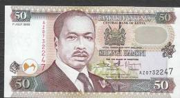 KENYA.  : 50  Schillings - 2002 - P36g  - UNC - Kenia