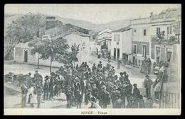 SANTAREM - ALCANENA - MINDE - Praça. ( Ed. Papelaria Guedes)carte Postale - Santarem
