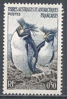 French Southern & Antarctic Territory 1956. Scott #2 (M) Rockhopper Penguins * - Terres Australes Et Antarctiques Françaises (TAAF)