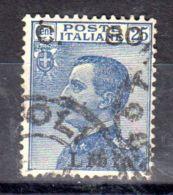1.6.1922; Libyen - Ital. Kolonie, Emanuel III. Mit Aufdruck Libia, Mi-Nr. 42, Gestempelt, Los 50058 - Libya
