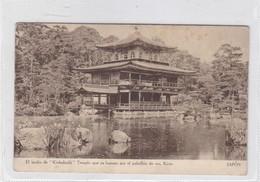 EL JARDIN DE KINKAKUDJI, TEMPLO QUE ES FAMOSO POR EL PABELLON DE ORO. KIOTO. OSK LINE. VOYAGE CIRCA 1930s - BLEUP - Kyoto