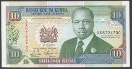 KENYA.  : 10 Schillings - 1993 - P24e - UNC - Kenia