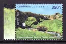 Armenien / Armenie / Armenia 2018, EUROPA CEPT,Tsakkar Natural Bridge - MNH - Armenia