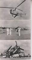 L 'ARMEE DE L ' AIR EN INDOCHINE   LOT 5 CARTES FORMAT CPA - Aviation