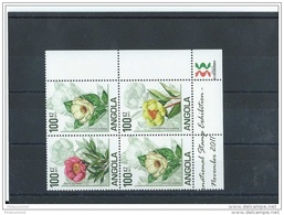 ANGOLA 2011 - YT N°  NEUF SANS CHARNIERE ** (MNH) GOMME D'ORIGINE LUXE - Angola