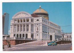 Brasil Brésil N°180 63 Manaus Teatro Amazonas VOIR ZOOM Auto VW Käfer Coccinelle Avec Pub Radio Rio à Gauche - Manaus