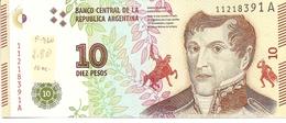 Argentina  P-360  10 Pesos  2016   UNC - Argentine