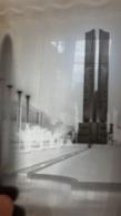 PLAQUE DE VERRE PARIS EXPOSITION COLONIALE 1931 ENTREE FORMAT 23.50 X 18 CM - Glass Slides