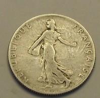1900 - France - 50 CENTIMES, Semeuse, Argent, Silver, KM 854, Gad 420 - G. 50 Centimes