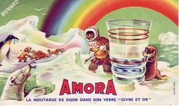 Buvard : AMORA - - Moutardes