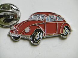 Pin's - Automobile Coccinelle Volkswagen - Volkswagen