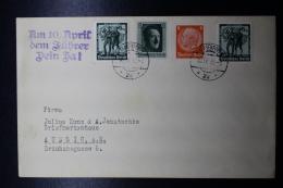 Austria: Anschluss :Cover 10-4-1938  Mixed Stamps, Am 10. April Den Führer Dein Ja! - 1918-1945 1. Republik
