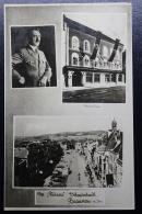 Austria: Anschluss Postkarte Des Fuhress Geburtsstadt Braunau  20-4-38 - 1918-1945 1. Republik