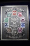 Austria: Anschluss Tag Der Briefmarken 12-1-1941 VILLACH  Mi 751 - 759 - 1918-1945 1. Republik