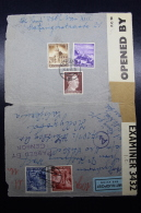 Austria: Anschluss Luftpost Cover Wien -> Hollywood Caifornia Mi 806 + 807  26-11-1941 - Briefe U. Dokumente