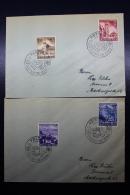 Austria: Anschluss 2x Cover Marburg, Pettau, Veldes, Meistern, Deutsch Für Immer - 1918-1945 1. Republik