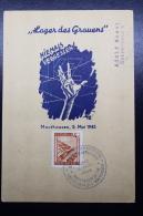Austria: Einschreiben  Postkarte  FDC  Par Set  Lager Des Grauens  Niemals Vergessen  Mauthausen 5-5-1945 - 1945-.... 2nd Republic