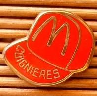 Joli Pin's Mc Donald's Coignières, Zamac, TBQ, Pins Pin. - McDonald's