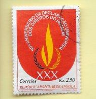 TIMBRES - STAMPS - ANGOLA - 1979 - 30º. ANNIVERSAIRE DE LA DÉCLARATION UNIVERSELLE DES DROITS DE L'HOMME - Angola