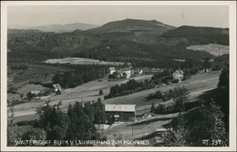 Waltersdorf-Großschönau (Sachsen) Lauschehaus Zum Hochwald 1929  - Grossschoenau (Sachsen)