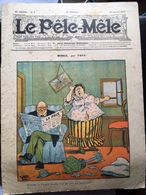 Le Pele Mele  Couverture Par Ymer 16 Janvier 1910 Menace - Journaux - Quotidiens