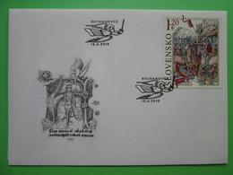 2012 Joint Hungary / Slovakia - 700th Anniversary Battle Of Rozhanovce / Rozgony - Slovakian FDC - Joint Issues
