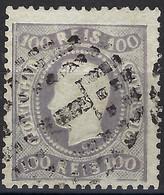 ⭐ Portugal - YT N° 32 A - Oblitéré - Violet Gris - TB - 1867 / 1870 ⭐ - Usati