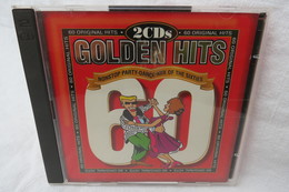 """2 CDs """"Golden Hits"""" Nonstop Party-dance-mix Of The Sixties, 60 Original Hits - Compilations"""