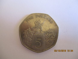 Liberia: 5 Dollars 1985 - Liberia