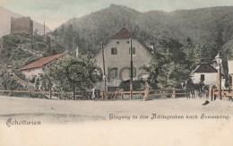 Austria - Schottwien - Eingang In Den Adlitzgraben Nach Semmering - Semmering