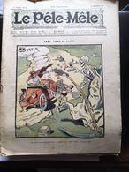 Le Pele Mele  Couverture Par Baker 31 Decembre 1905 Trop Tard Le Cholera La Mort Fauche Fontiere - Journaux - Quotidiens